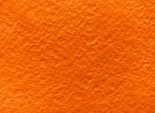 Текстура оранжевой акварели грубая бумажная стоковые изображения