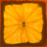 Текстура оранжевой предпосылки безшовная Стоковые Фотографии RF