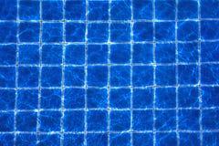 Текстура отражения цвета предпосылки бассейна Стоковое Фото