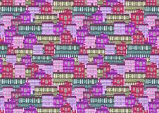 Текстура от домов города Стоковое фото RF