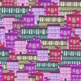 Текстура от домов города Стоковое Фото
