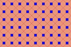 Текстура от наклонять синих квадратов объединенный красный выравнивается иллюстрация штока