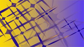 Текстура от прозрачного голубого абстрактного объемного модного волшебства различных форм звезд светлого воздуха космических высе иллюстрация штока