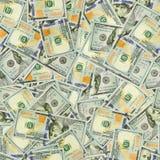 Текстура доллара безшовная Стоковое Изображение RF