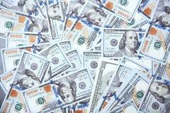 Текстура 100 долларов США Стоковые Изображения RF