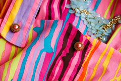 Текстура одежды Стоковое Изображение