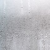 Текстура падения дождя на стеклянной влажной прозрачной предпосылке Стоковые Изображения RF