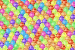 Текстура пасхальных яя Стоковое фото RF