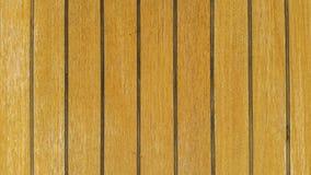 Текстура палубы Teak Стоковое Изображение RF