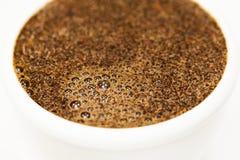 Текстура пены кофе Стоковая Фотография RF