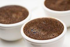 Текстура пены кофе Стоковые Фотографии RF