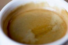Текстура пены кофе Стоковое Изображение
