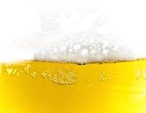 текстура пены пива Стоковые Изображения