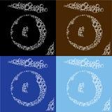 текстура пены пузырей иллюстрация штока