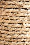 Текстура пеньковой веревки Стоковое фото RF