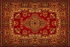 текстура персиянки ковра Стоковое Изображение