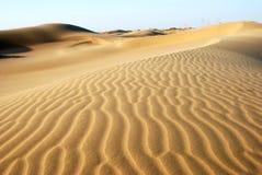 Текстура песка в пустыне Стоковые Фото