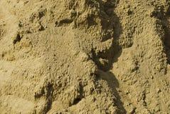текстура песка дождя Стоковая Фотография