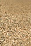 текстура песка пляжа Стоковая Фотография