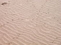 текстура песка пляжа Стоковая Фотография RF