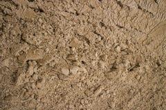 Текстура песка поверхностная Стоковая Фотография