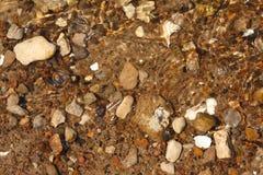 текстура песка предпосылки Стоковая Фотография