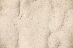 текстура песка предпосылок идеально Песчаный пляж для предпосылки Взгляд сверху стоковое изображение rf