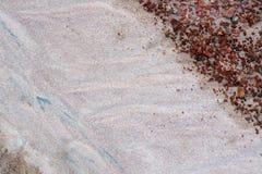 текстура песка природы Стоковое Изображение RF