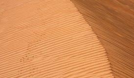 текстура песка пустыни Стоковое Изображение