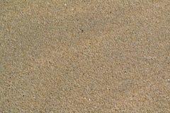 Текстура песка пляжа Стоковые Изображения