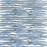 Текстура печати тигра Aqua голубая Стоковое Изображение RF