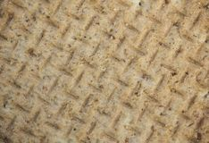 Текстура печенья близкая поднимающая вверх Стоковая Фотография RF