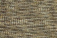 текстура пинка knit ткани предпосылки шерстяная Стоковое фото RF