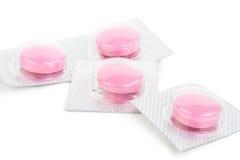 текстура пилек предпосылки розовая Стоковая Фотография RF