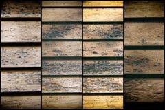 Текстура планки деревянной скамьи для вебсайта или мобильных устройств, элемента дизайна Стоковая Фотография RF