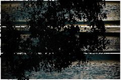 Текстура планки деревянной скамьи Grunge для вебсайта или мобильных устройств, элемента дизайна Стоковые Изображения RF