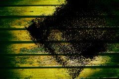 Текстура планки деревянной скамьи Grunge для вебсайта или мобильных устройств, элемента дизайна Стоковая Фотография RF
