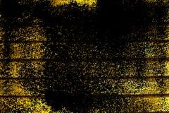 Текстура планки деревянной скамьи Grunge ультра желтая для вебсайта или мобильных устройств, элемента дизайна Стоковое Изображение RF