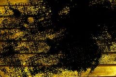 Текстура планки деревянной скамьи Grunge ультра желтая для вебсайта или мобильных устройств, элемента дизайна Стоковые Фотографии RF