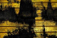 Текстура планки деревянной скамьи Grunge ультра желтая для вебсайта или мобильных устройств, элемента дизайна Стоковая Фотография RF