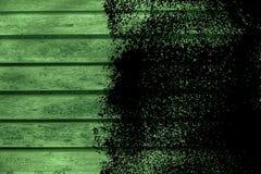 Текстура планки деревянной скамьи Grunge ультра зеленая для вебсайта или мобильных устройств, элемента дизайна Стоковые Изображения RF