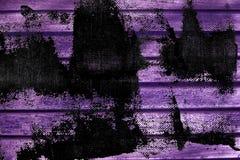 Текстура планки деревянной скамьи Grunge ультра фиолетовая для вебсайта или мобильных устройств, элемента дизайна Стоковая Фотография