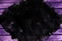 Текстура планки деревянной скамьи Grunge ультра фиолетовая для вебсайта или мобильных устройств, элемента дизайна Стоковое Фото