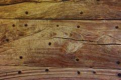 Текстура планки естественного цвета старая деревянная, предпосылка, обои, t Стоковое Изображение