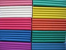 текстура пластилина Стоковая Фотография RF