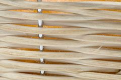 Текстура плетеной корзины Стоковая Фотография RF