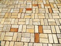 Текстура плиток тротуара стоковое изображение