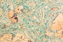 Текстура поверхности пробковой доски деревянной, естественной деревянной декоративной панели Стоковая Фотография RF