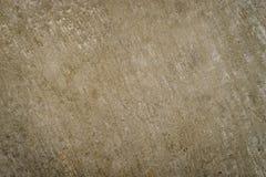 Текстура поверхности цемента Брайна песочная грубая Стоковая Фотография RF