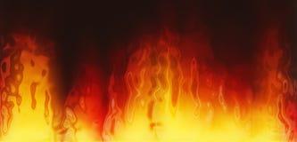 текстура пожара Стоковая Фотография RF